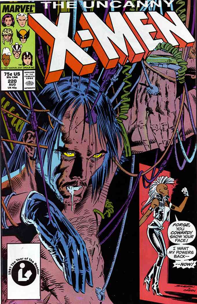 Uncanny X-Men, The comic issue 220