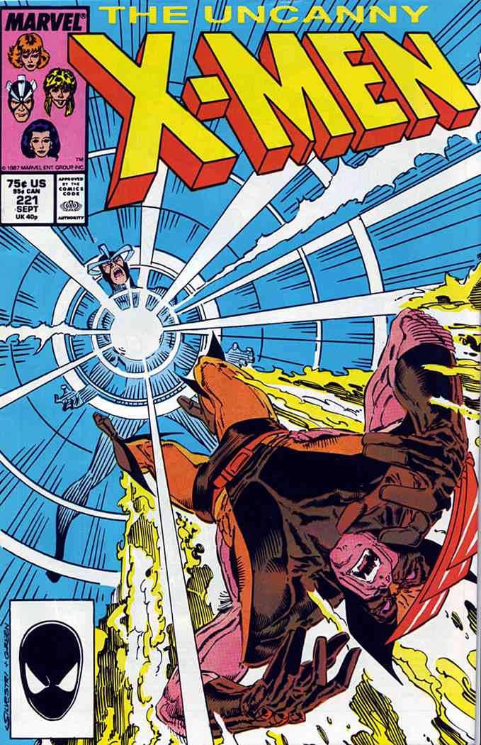 Uncanny X-Men, The comic issue 221