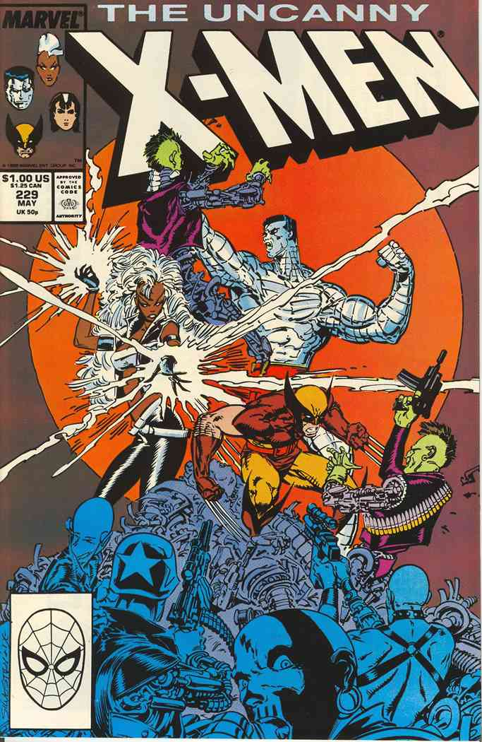 Uncanny X-Men, The comic issue 229
