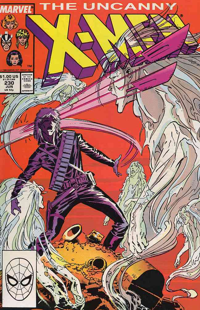 Uncanny X-Men, The comic issue 230