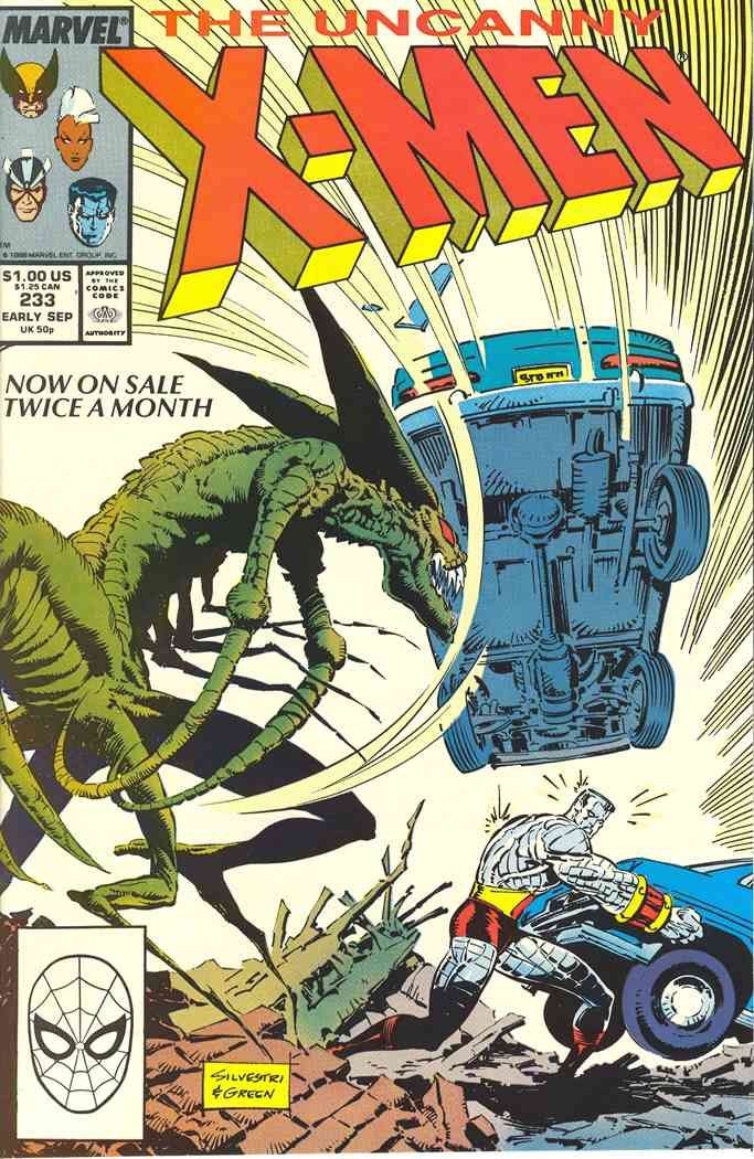 Uncanny X-Men, The comic issue 233