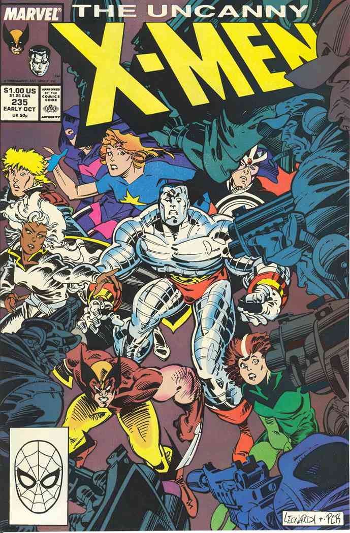 Uncanny X-Men, The comic issue 235