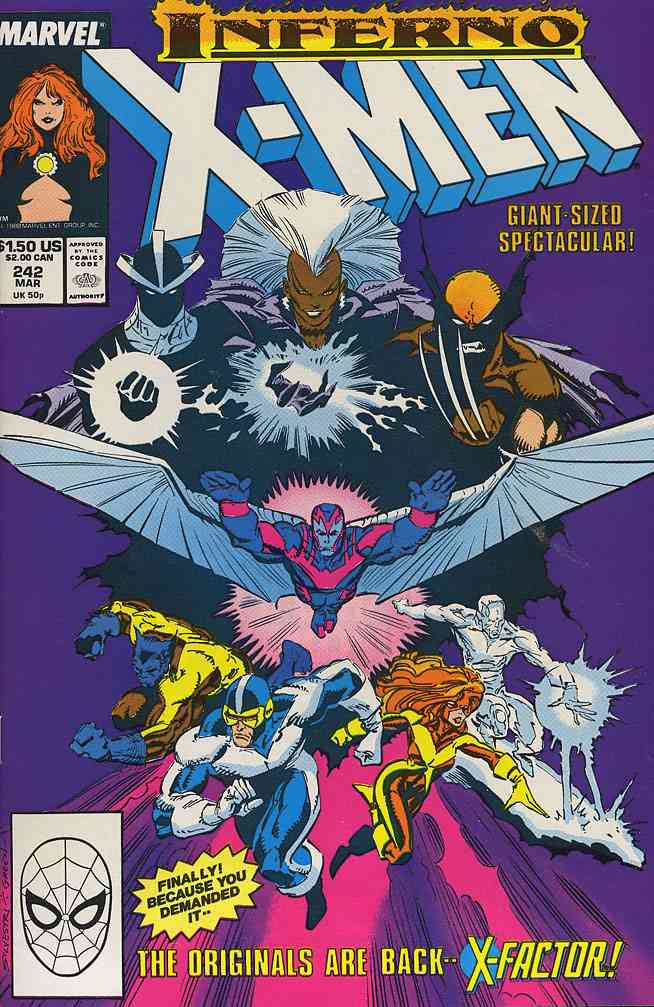 Uncanny X-Men, The comic issue 242