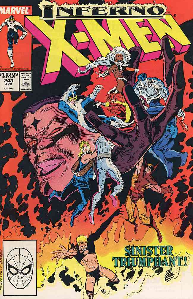 Uncanny X-Men, The comic issue 243
