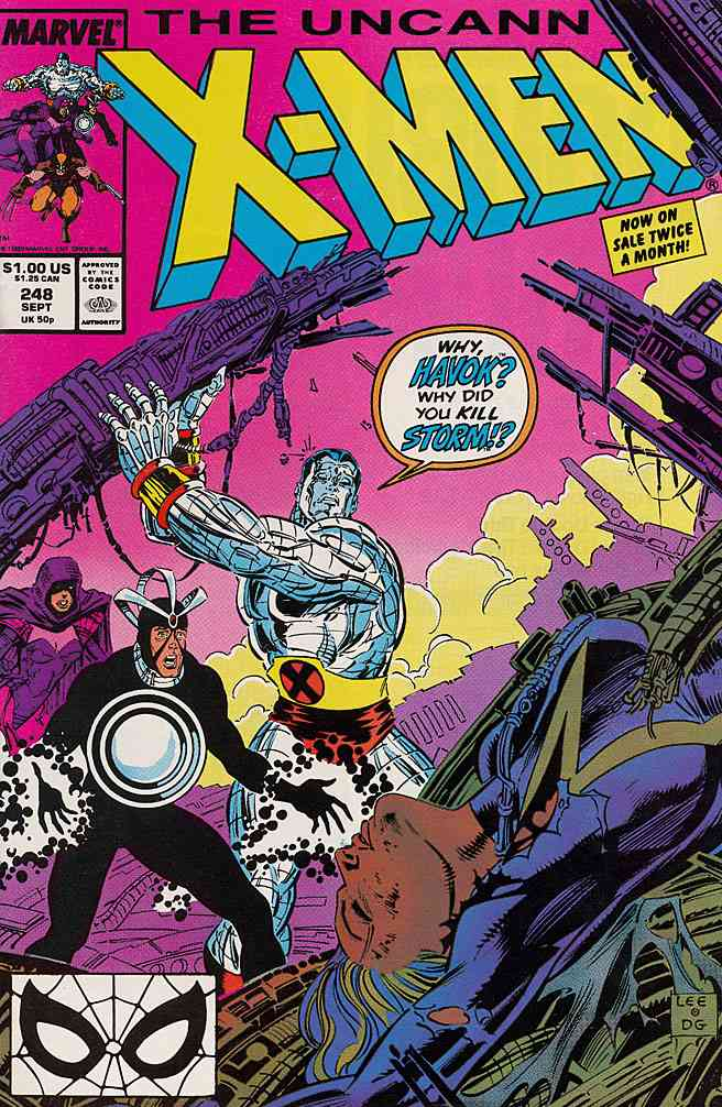 Uncanny X-Men, The comic issue 248