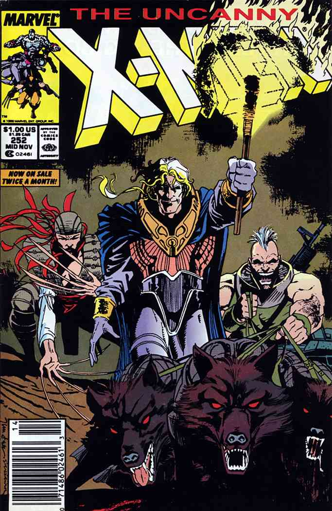 Uncanny X-Men, The comic issue 252