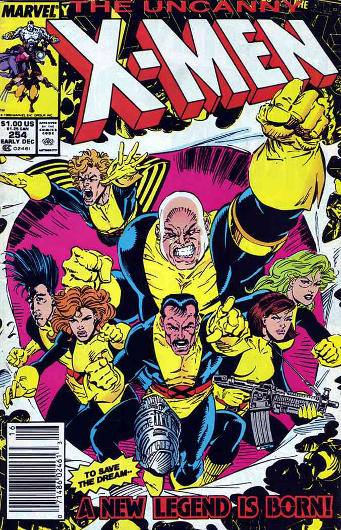 Uncanny X-Men, The comic issue 254
