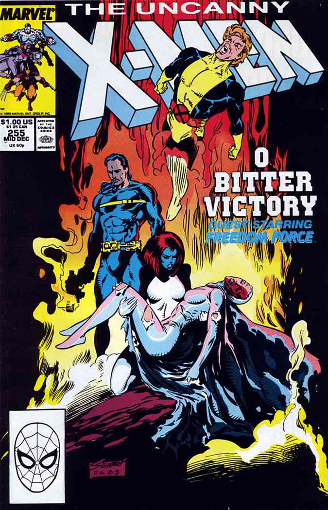 Uncanny X-Men, The comic issue 255