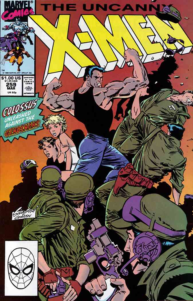 Uncanny X-Men, The comic issue 259
