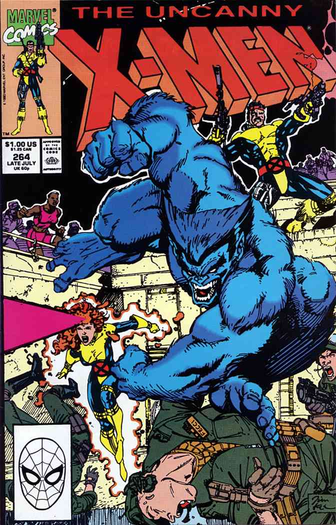 Uncanny X-Men, The comic issue 264