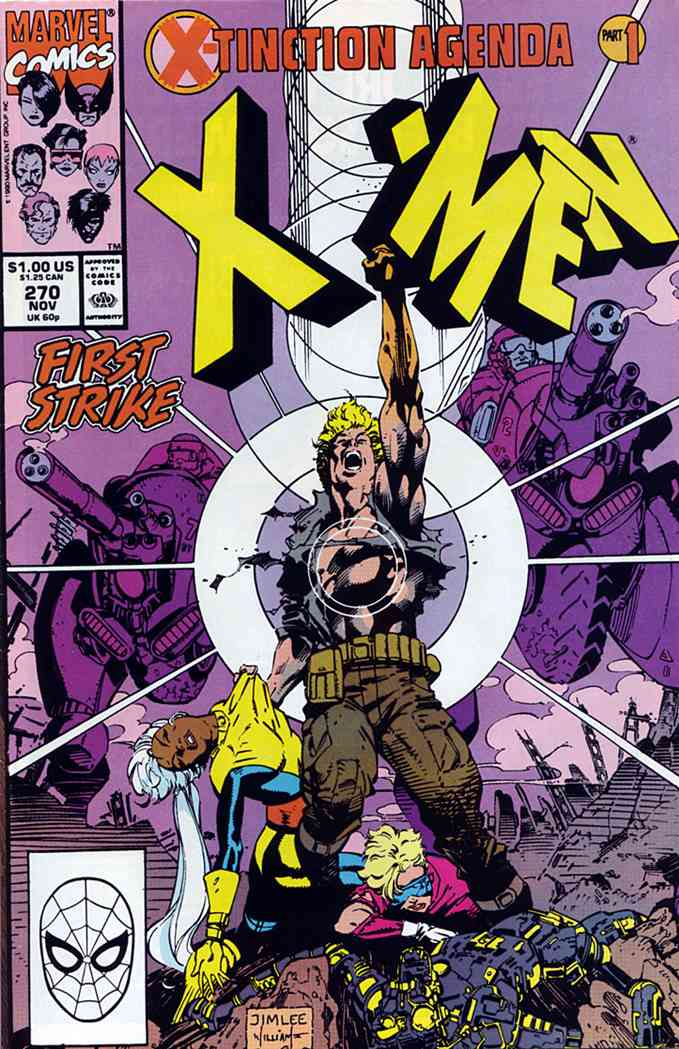 Uncanny X-Men, The comic issue 270