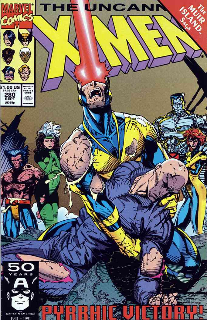 Uncanny X-Men, The comic issue 280