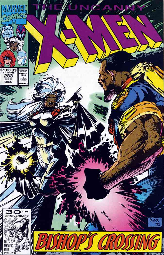 Uncanny X-Men, The comic issue 283