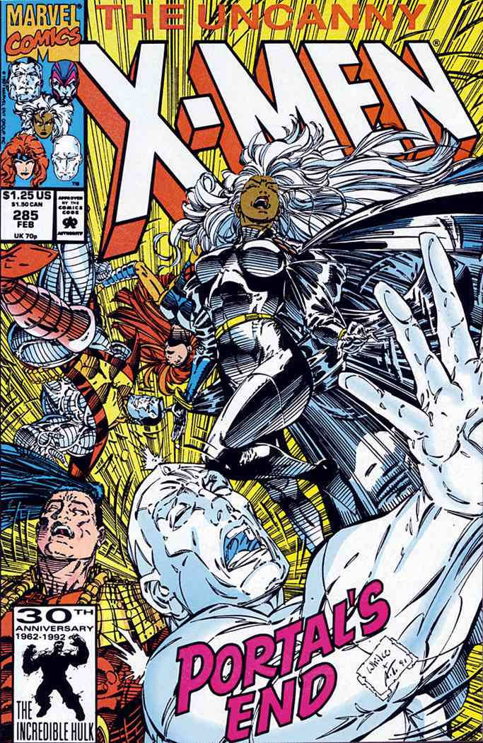 Uncanny X-Men, The comic issue 285