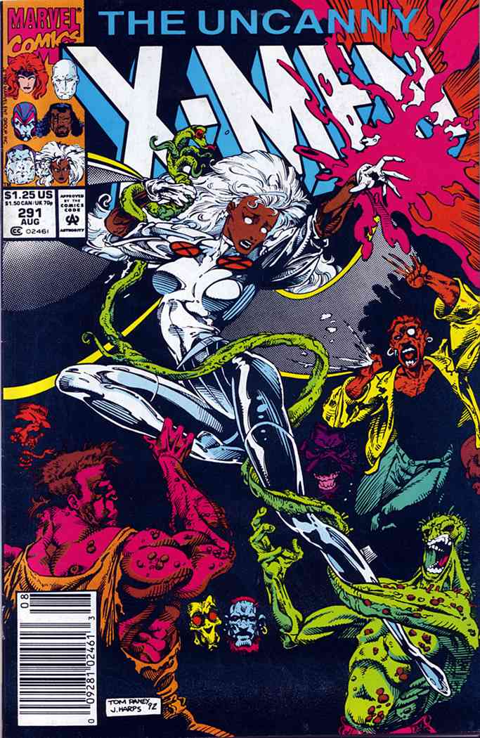 Uncanny X-Men, The comic issue 291
