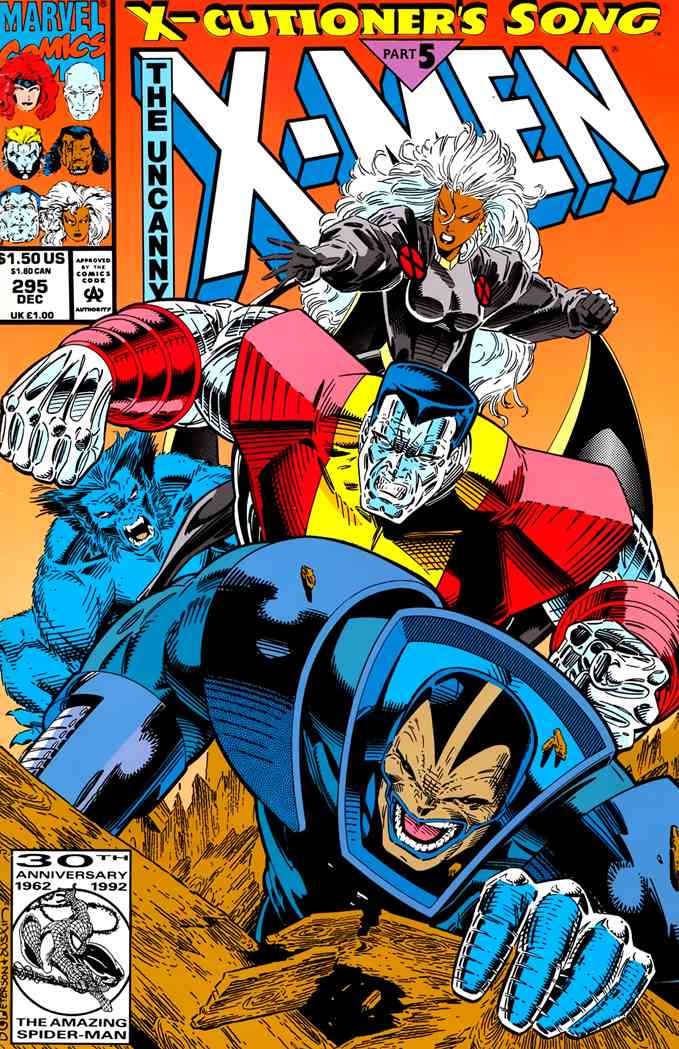 Uncanny X-Men, The comic issue 295