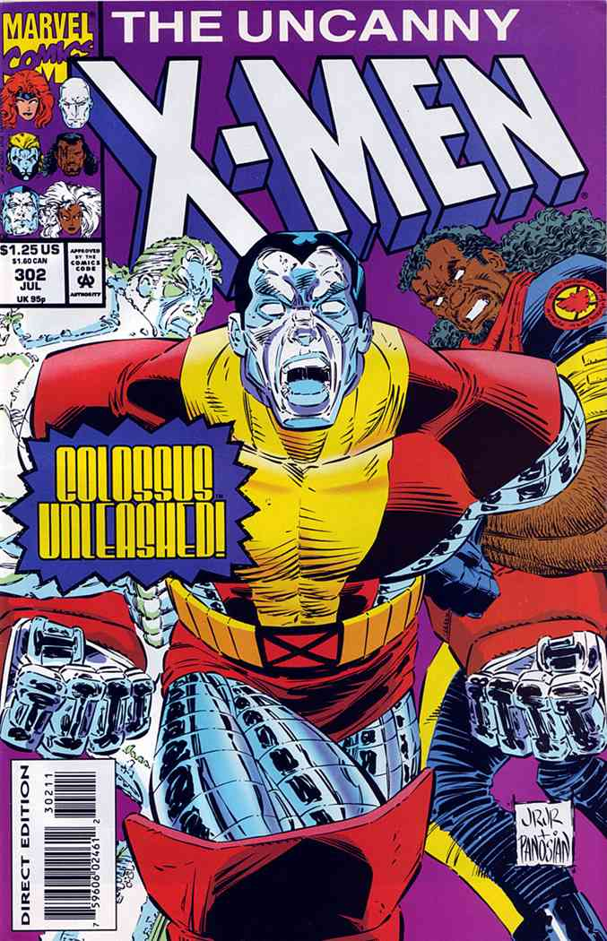 Uncanny X-Men, The comic issue 302
