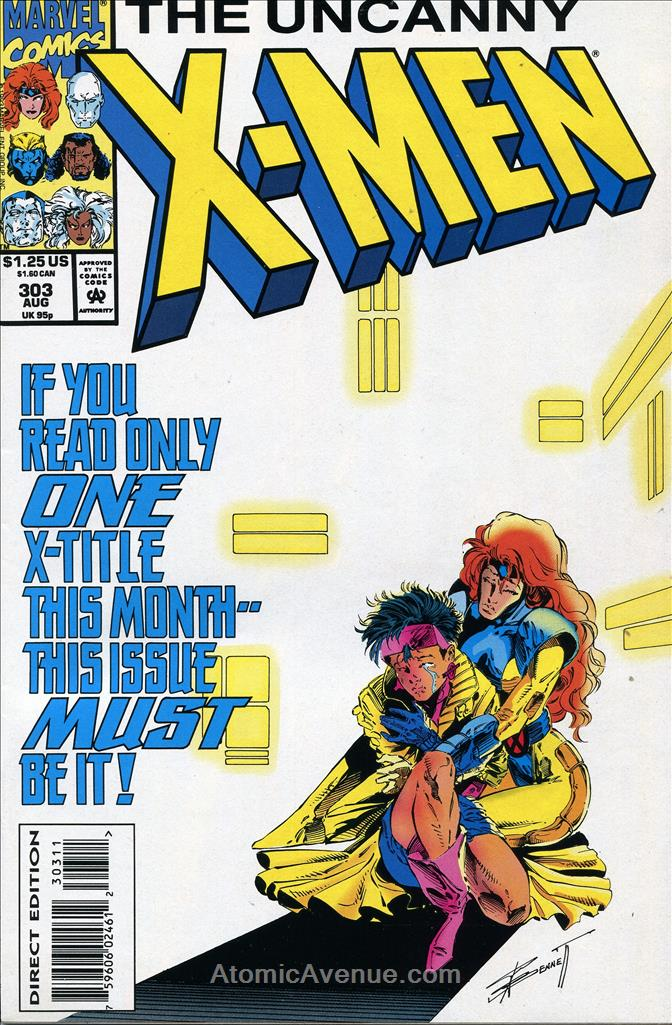 Uncanny X-Men, The comic issue 303
