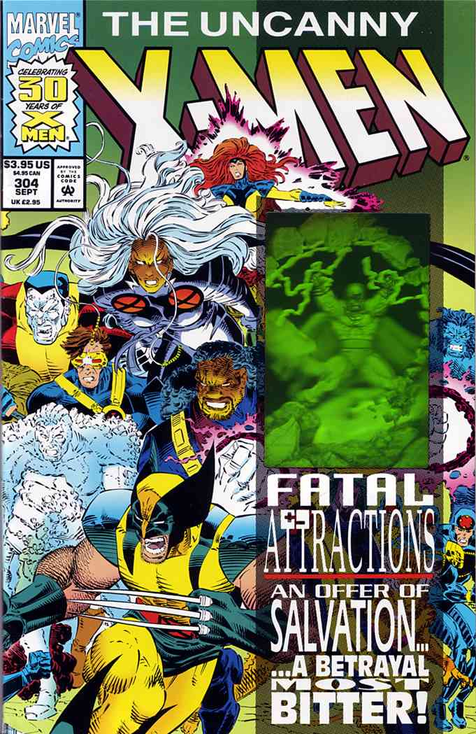 Uncanny X-Men, The comic issue 304