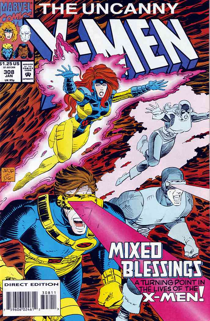 Uncanny X-Men, The comic issue 308