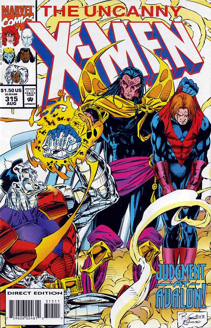 Uncanny X-Men, The comic issue 315