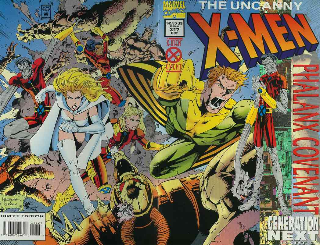 Uncanny X-Men, The comic issue 317