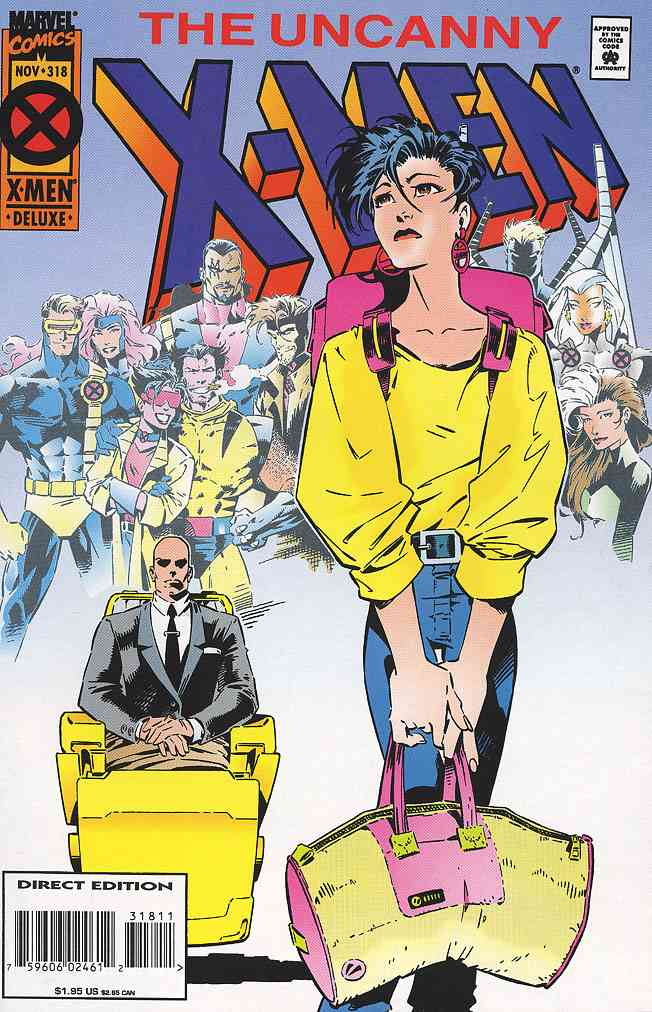 Uncanny X-Men, The comic issue 318