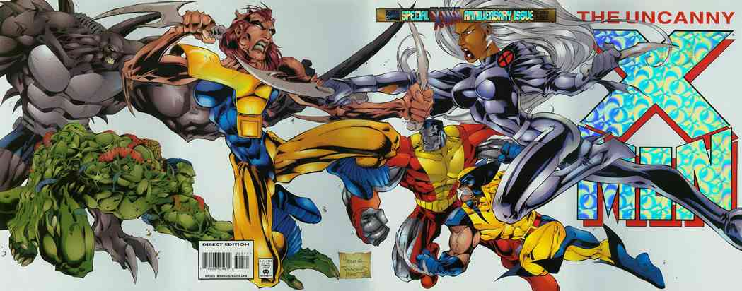 Uncanny X-Men, The comic issue 325