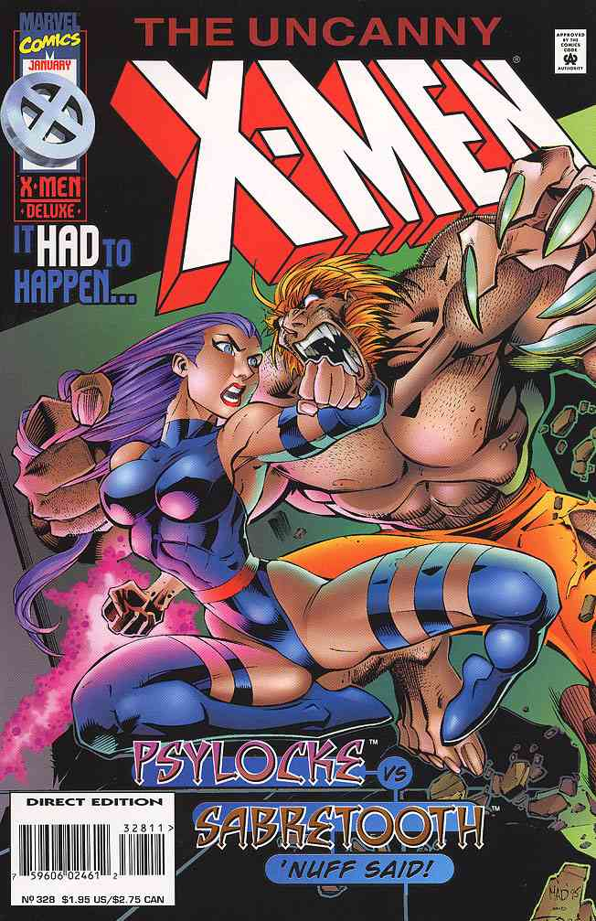 Uncanny X-Men, The comic issue 328