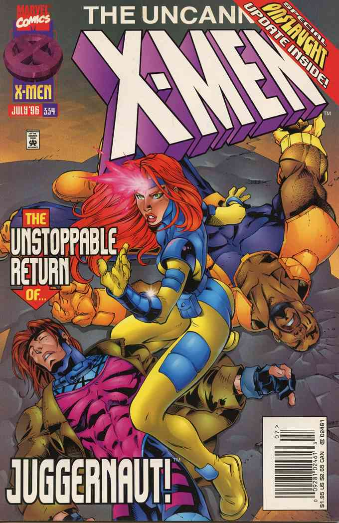Uncanny X-Men, The comic issue 334