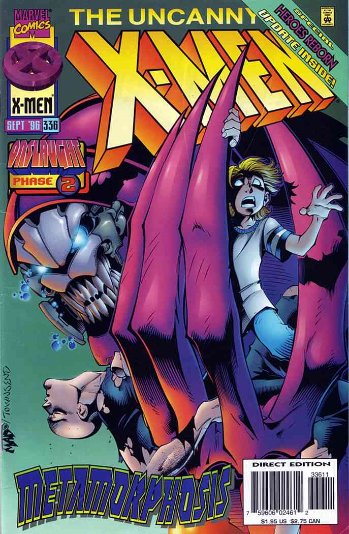 Uncanny X-Men, The comic issue 336