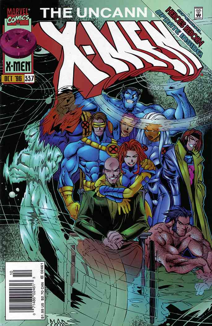 Uncanny X-Men, The comic issue 337