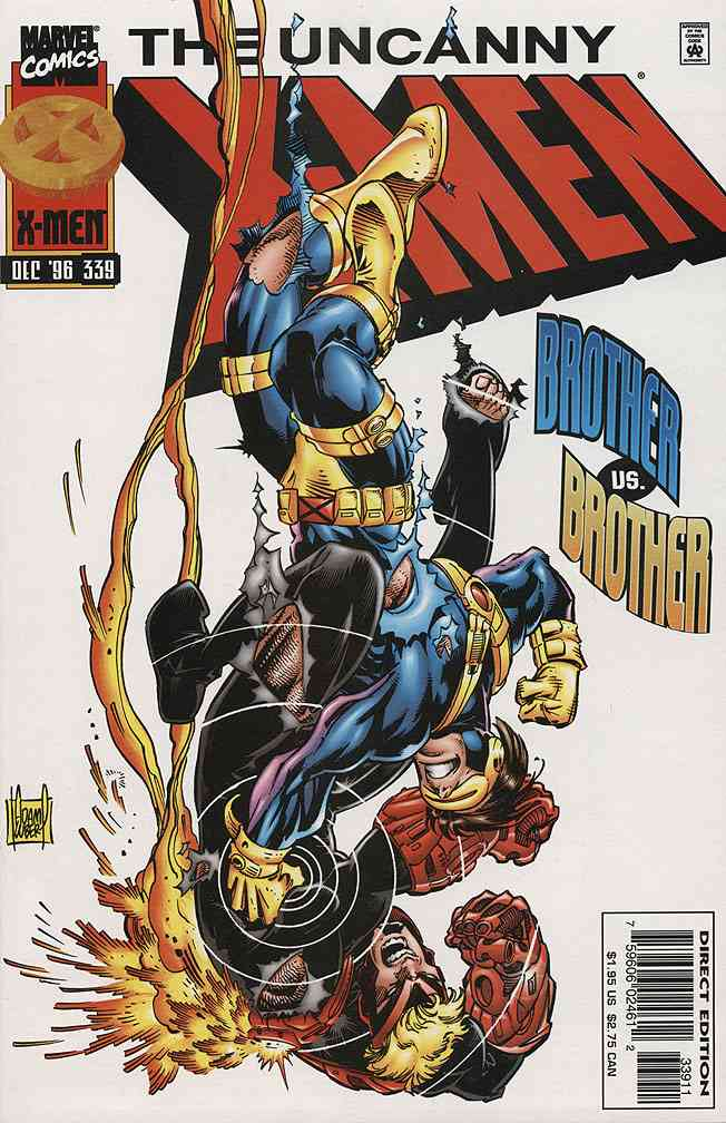 Uncanny X-Men, The comic issue 339