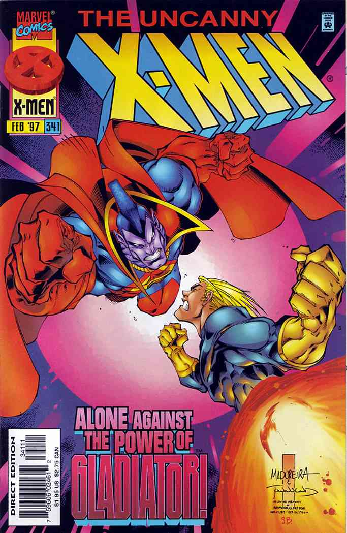 Uncanny X-Men, The comic issue 341