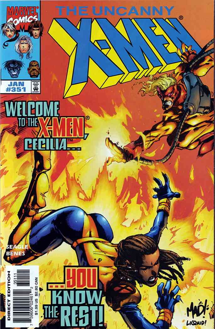 Uncanny X-Men, The comic issue 351