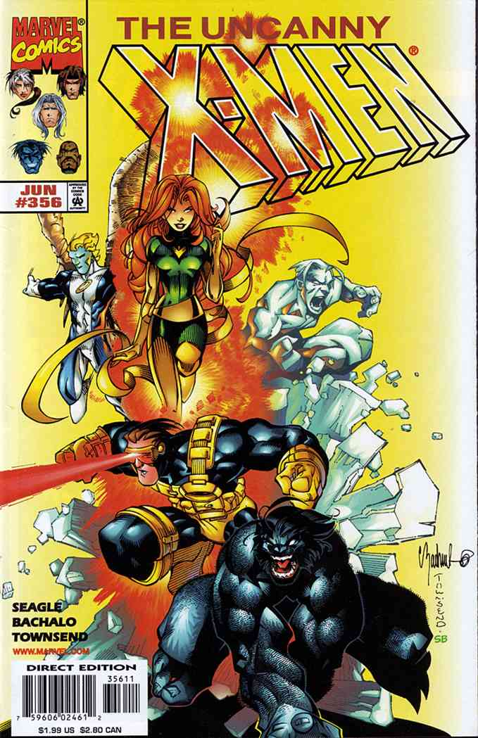 Uncanny X-Men, The comic issue 356