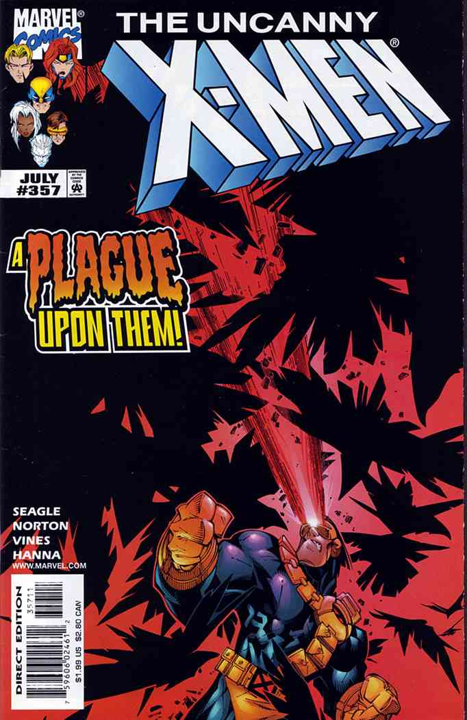 Uncanny X-Men, The comic issue 357
