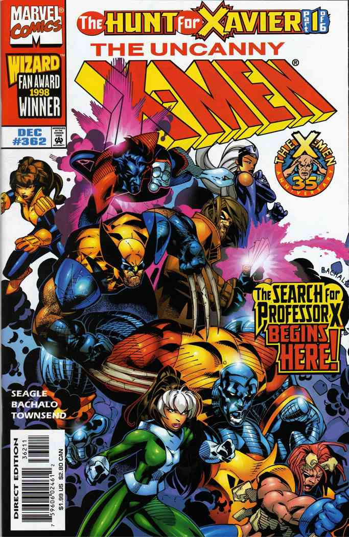 Uncanny X-Men, The comic issue 362