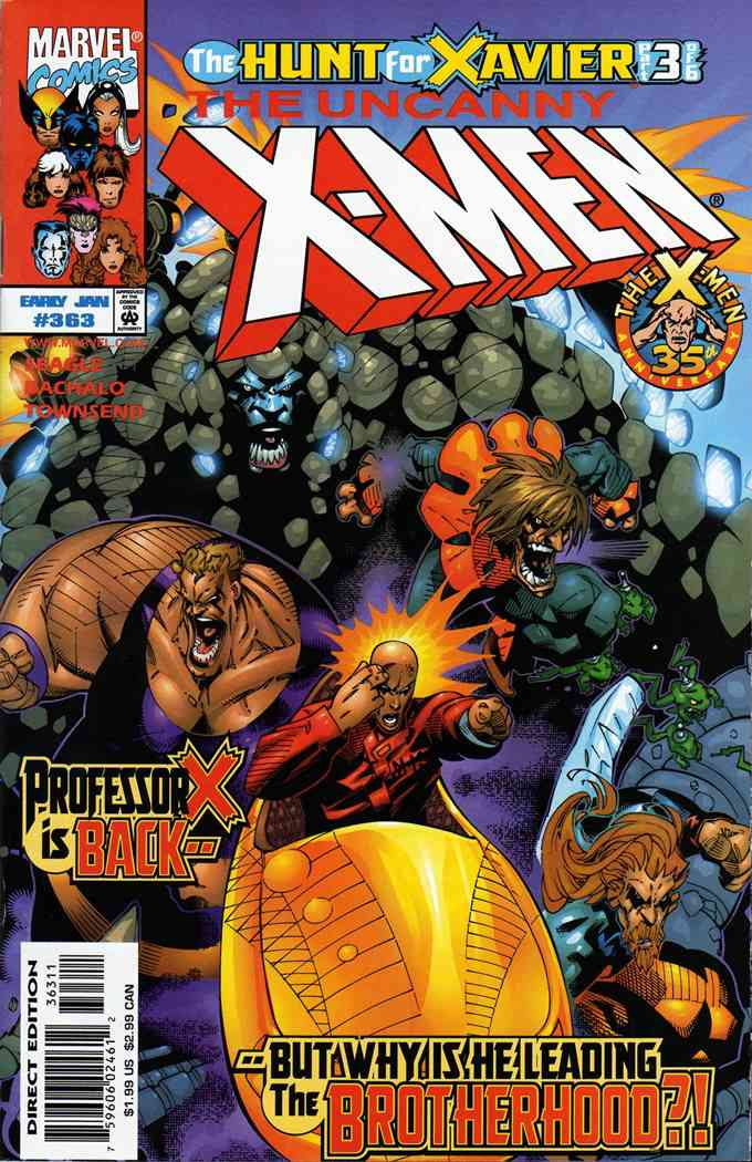 Uncanny X-Men, The comic issue 363