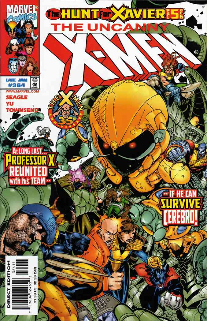 Uncanny X-Men, The comic issue 364