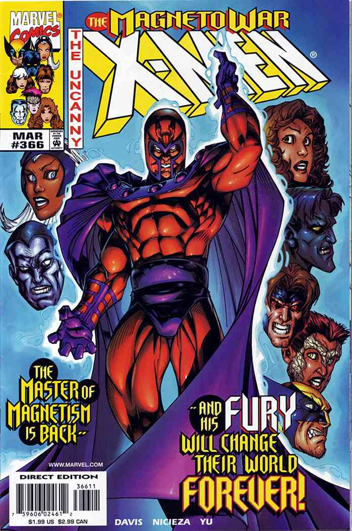 Uncanny X-Men, The comic issue 366