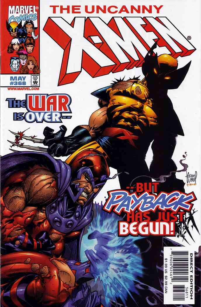Uncanny X-Men, The comic issue 368