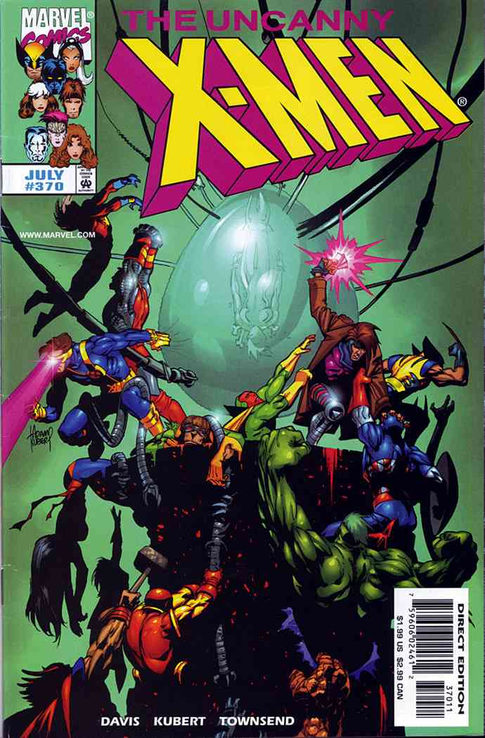 Uncanny X-Men, The comic issue 370