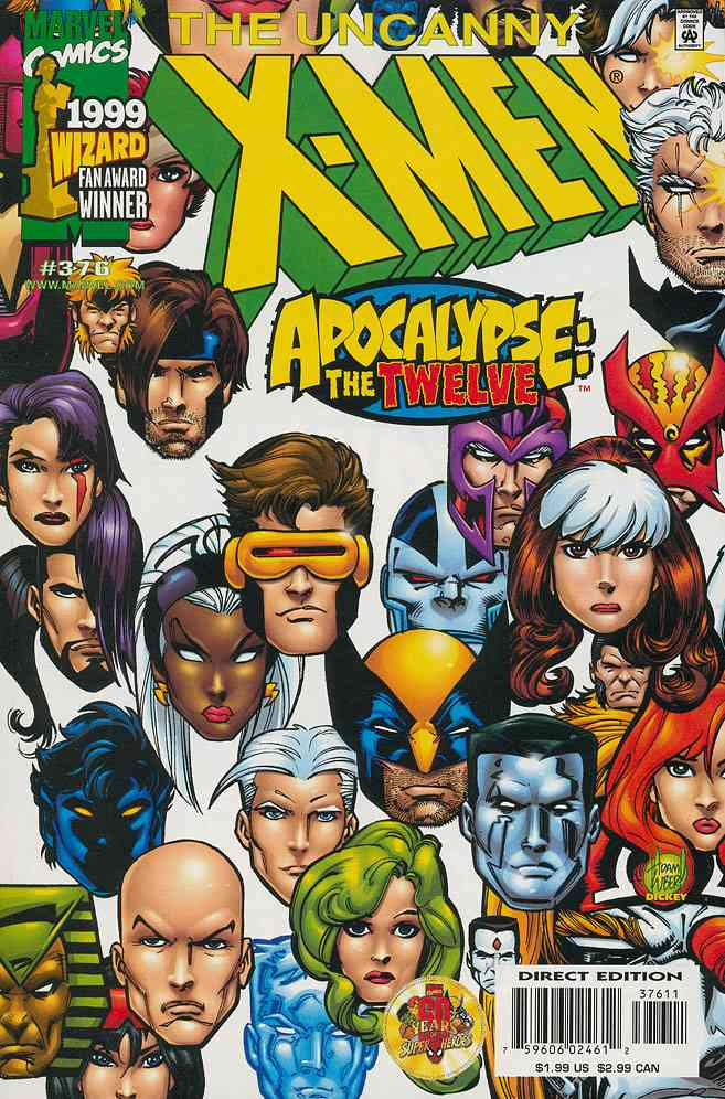 Uncanny X-Men, The comic issue 376