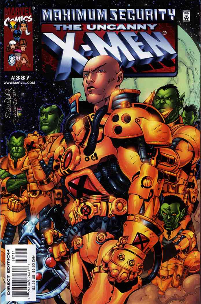 Uncanny X-Men, The comic issue 387