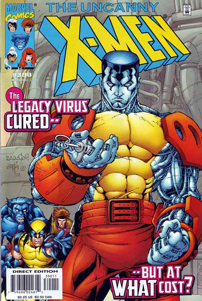 Uncanny X-Men, The comic issue 390