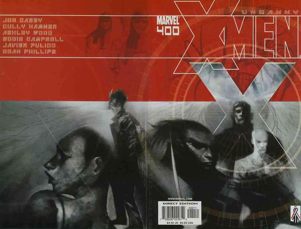 Uncanny X-Men, The comic issue 400