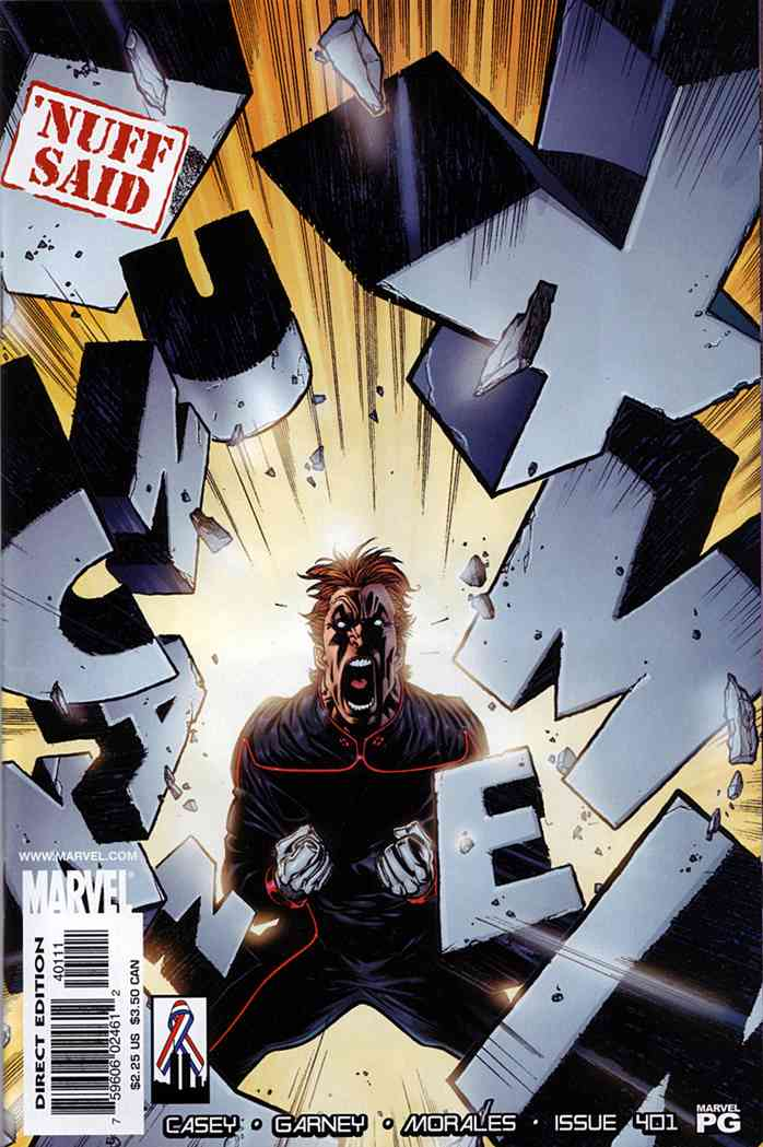 Uncanny X-Men, The comic issue 401