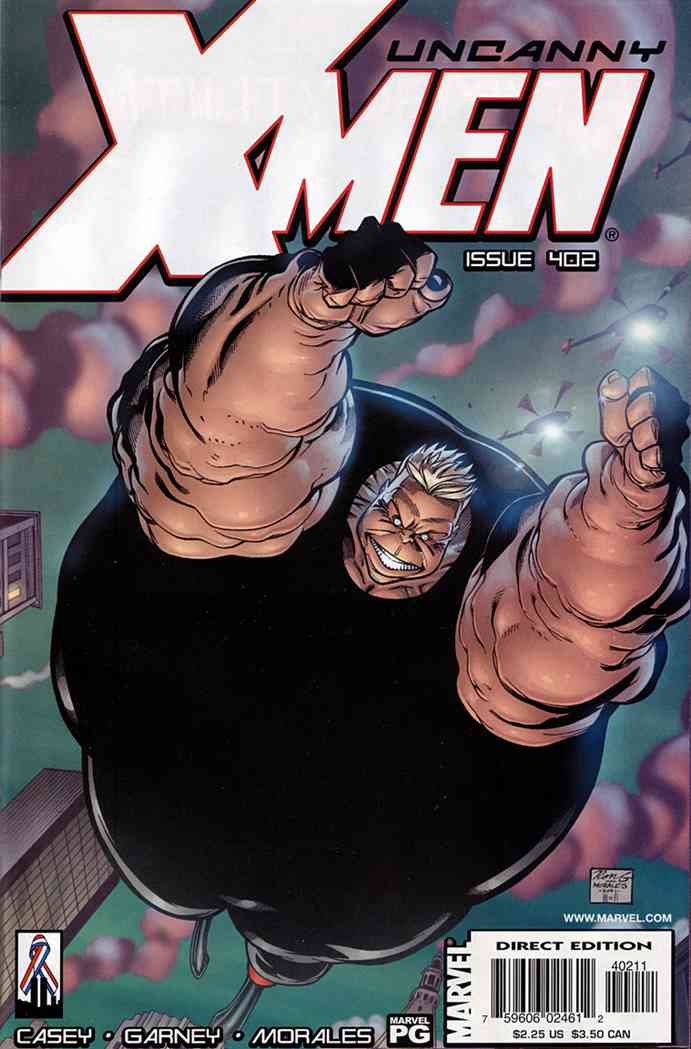 Uncanny X-Men, The comic issue 402