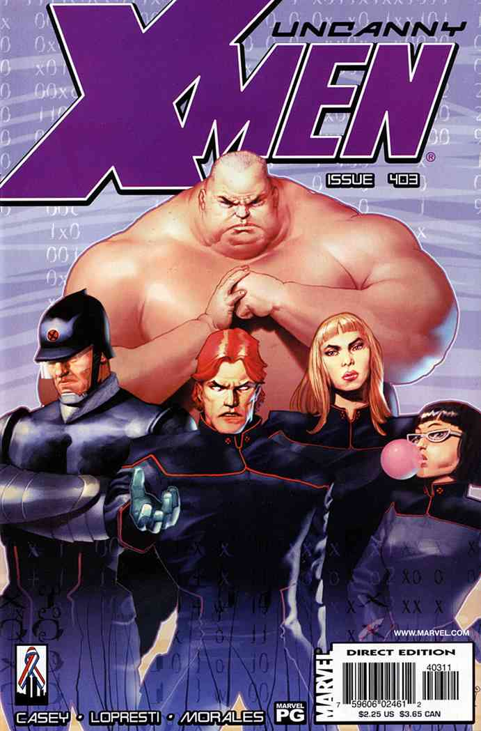Uncanny X-Men, The comic issue 403